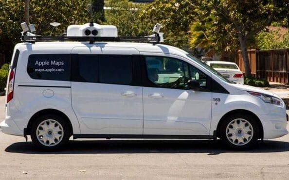 The overhaul of Apple's Maps app will use data gathered by its own fleet of sensor-equipped vans - APPLE