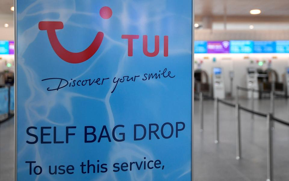TUI posted heavy losses. Photo: Toby Melville/Reuters