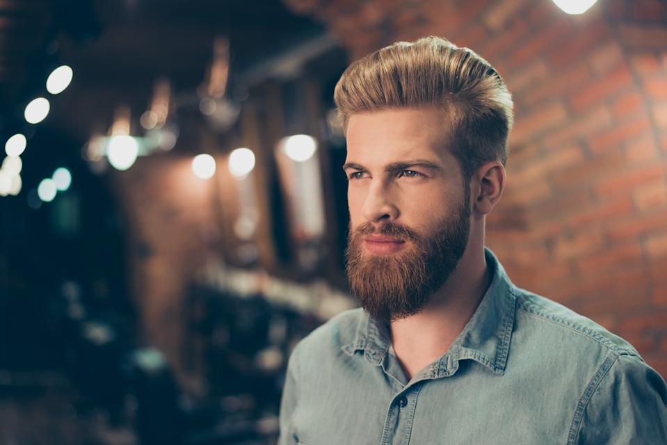 Almost 1,000 women were surveyed about their facial hair preferences. [Photo: Getty]