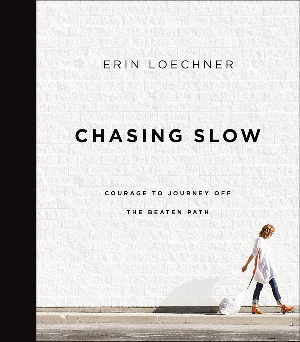 """<p>Erin Loechner, founder of the blogs <a href=""""http://designformankind.com"""" class=""""link rapid-noclick-resp"""" rel=""""nofollow noopener"""" target=""""_blank"""" data-ylk=""""slk:Design for Mankind"""">Design for Mankind</a> and <a href=""""http://clementinedaily.com"""" class=""""link rapid-noclick-resp"""" rel=""""nofollow noopener"""" target=""""_blank"""" data-ylk=""""slk:Clementine Daily"""">Clementine Daily</a>, became an internet superstar before turning 30. She has been profiled in <strong>The New York Times</strong> and has an audience that numbers in the millions. In her first book, <strong><span>Chasing Slow</span></strong>, Loechner explores all the ways in which her own life was speeding toward fame while her heart was being left behind. In more ways than one, Loechner introduces the idea that slowing down allows us to enjoy our lives in the present and view life as a gift rather than a promise.</p>"""