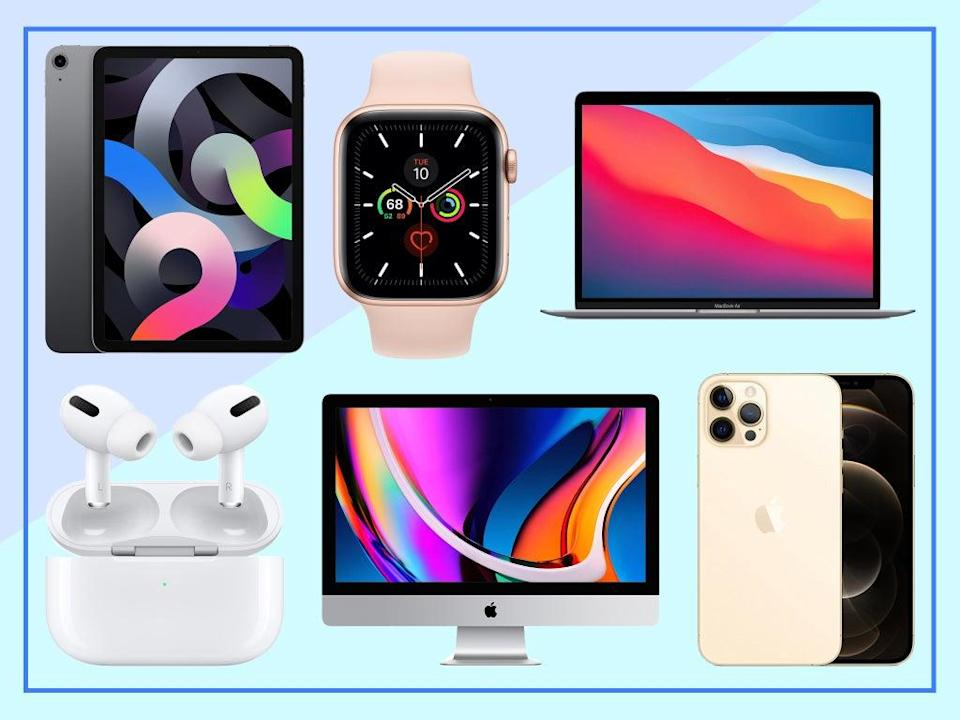Whether it's a pair of AirPods or a new MacBook, these are the discounts you need to see   (The Independent)