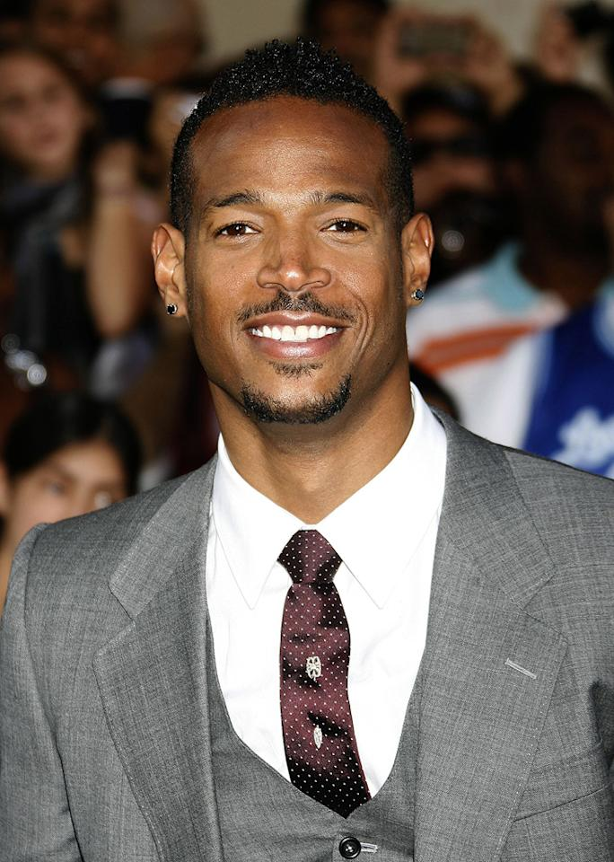 """<a href=""""http://movies.yahoo.com/movie/contributor/1800026089"""">Marlon Wayans</a> at the Los Angeles premiere of <a href=""""http://movies.yahoo.com/movie/1809993532/info"""">G.I. Joe: The Rise of Cobra</a> - 08/06/2009"""