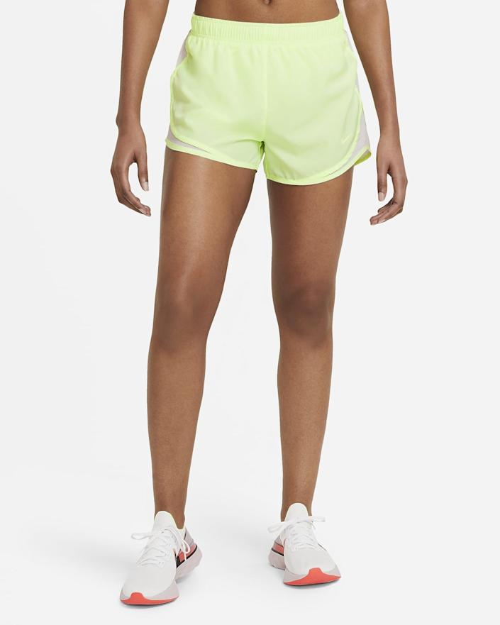 <p>These <span>Nike Tempo Running Shorts</span> ($30) are classics, and they come in so many fun colors.</p>