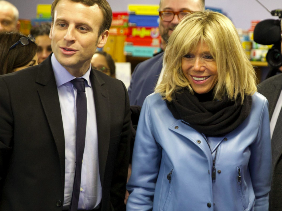 <p>At 64, Brigitte Macron is 25 years older than her 39-year-old husband. Something that hasn't gone unnoticed by the keyboard nasties, who haven't been able to resist shaming the couple about their age difference. Defenders have stepped in to point out that the age-gap is identical to that of Donald and Melania Trump, only in this case it is the woman who is older. <em>[Photo: DOMINIQUE JACOVIDES / BESTIMAGE]</em> </p>