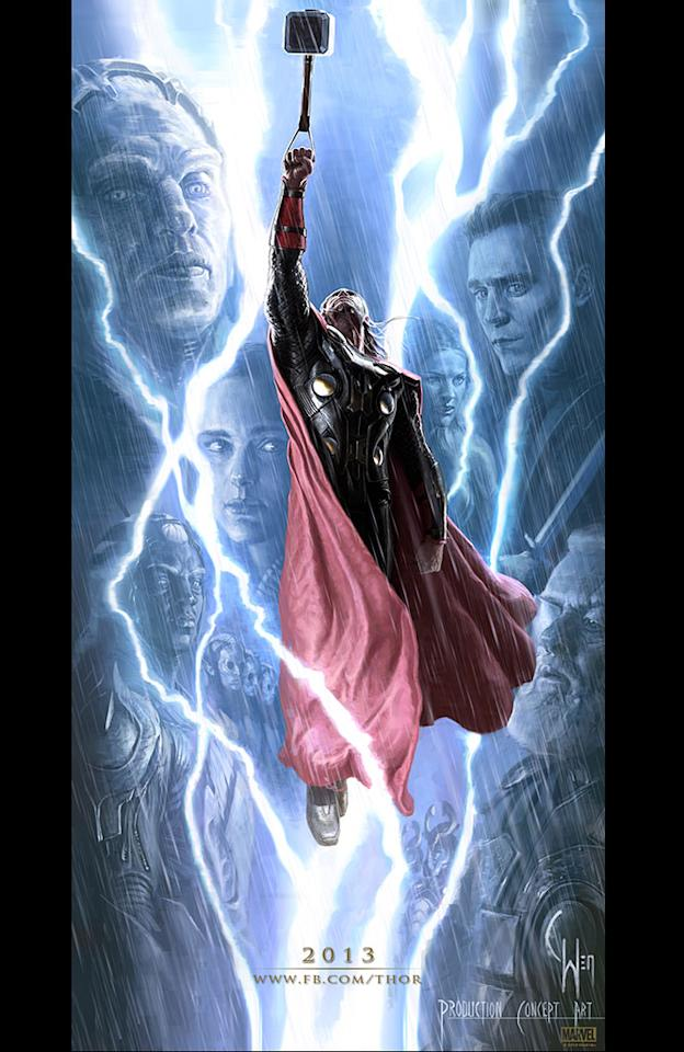"Concept Art for Marvel Studio's ""Thor: The Dark World"" - 2013"