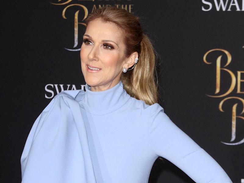 Celine Dion turned to husband's portrait to help her make Beauty and the Beast decision
