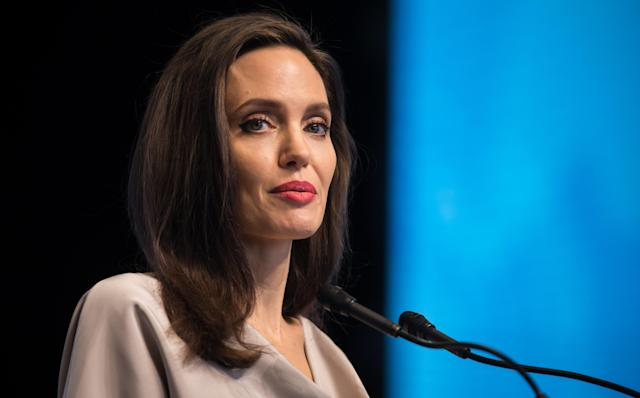 Sahar Tabar came clean about claims that she had undergone plastic surgery to resemble Angelina Jolie. (Photo: Getty Images)