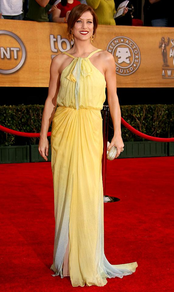 """<a href=""""/kate-walsh/contributor/1062641"""">Kate Walsh</a> at the <a href=""""/the-2007-screen-actors-guild-awards/show/40550"""">13th Annual Screen Actors Guild Awards</a>."""