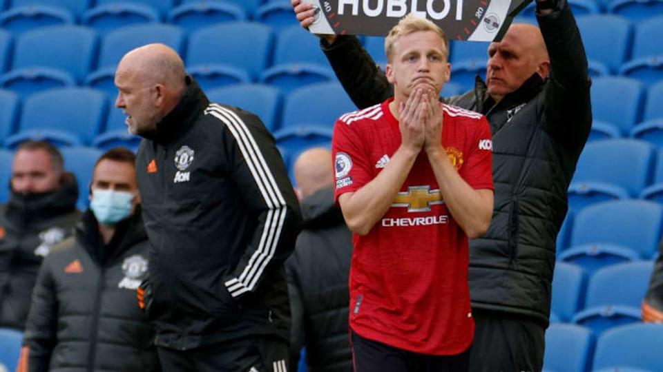 Brighton & Hove Albion v Manchester United - Premier League | Pool/Getty Images