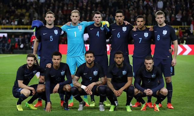 """<span class=""""element-image__caption"""">A young England team impressed despite losing 1-0 to Germany.</span> <span class=""""element-image__credit"""">Photograph: Nick Potts/PA</span>"""