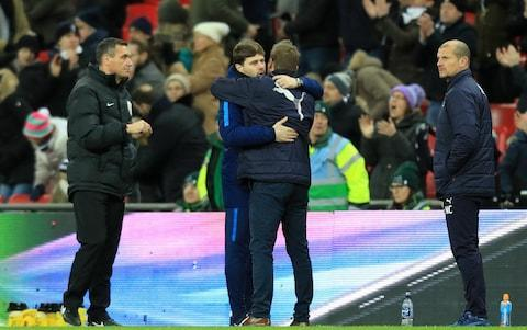 "Mauricio Pochettino warned Tottenham Hotspur cannot afford to take Harry Kane for granted after the striker opened his goalscoring account for 2018. Kane netted twice to help Tottenham into the fourth round of the FA Cup as, despite the personal records, he and manager Pochettino both seek their first piece of silverware. Spurs have been given another reminder of how tough it can be for even the Premier League's best clubs to hold on to their stars after Liverpool agreed to sell Philippe Coutinho to Barcelona in a £142million deal. Pochettino hopes Kane can become a one-club man, but is realistic enough to acknowledge that Tottenham must play their part in making sure the love affair continues. Kane could earn considerably more by leaving Spurs and would also be guaranteed trophies at one of Europe's biggest clubs. ""Harry is so special,"" said Pochettino. ""Because he loves Tottenham and he has always been at Tottenham. But we need to be clever how we manage him. The player needs to choose to stay here, you cannot force the player to stay here. ""Our job is to try to work together and try to achieve everything we want at the club and of course Harry is such a special player. I told him only a few special players like [Francesco] Totti can spend all their career in one club. ""I think Harry is this type of a player who can stay all his career at Tottenham because he loves Tottenham. But in football you cannot be sure. ""It is today, the present, tomorrow, after tomorrow you need to doubt. That is why it is so important to work together and try to achieve all that you want. ""And of course this present at Tottenham, this future at Tottenham, this project is so exciting and I hope, we hope, that all together we spend a lot of time here and try to win trophies and achieve what we want."" Pochettino had originally been asked whether or not Coutinho's move was a boost to Tottenham's Premier League top four hopes, but the Argentine decided to take a different approach to the question. ""I think it is a massive example or massive point to show how this business is,"" said Pochettino. ""How difficult it is for the clubs to keep their best players. Pochettino wants Kane to be a one-club man with Spurs Credit: Anthony Devlin/PA ""Liverpool is one of the best clubs in the world and it looks when Coutinho, or a player like Coutinho, wants to leave, how difficult it is to keep your best player. ""But that is [the situation] today with Coutinho, who I think Liverpool wanted to keep but was difficult to keep. And look what happened with Cristiano Ronaldo at Man United and Zidane at Juventus, Figo in Barcelona. It is a lot of examples that it is so, so tough to keep your best player if the player says he wants to leave. ""That is why it is so important how you care for your players. It is why you need to anticipate things. It is so important to work with the human side and then to provide the player, the club and the team an exciting moment, and try and build a project that they feel comfortable with and they are happy to be with you. ""Today, when a player decides to leave, look what happens. If another club pays the type of money they pay - like Barcelona with Liverpool - how do you stop it?"" AFC Wimbledon manager Neal Ardley admitted that he thought it was a ""wind up"" when he saw Kane's name on the Tottenham team-sheet on Sunday. Kane was not even born when the Crazy Gang beat Liverpool in the 1988 FA Cup final and the England international succeeded where John Aldridge had failed by finding a way past a Wimbledon goalkeeper at Wembley. Pochettino embraces Neal Ardley after Spurs' win over Wimbledon Credit: Shaun Brooks/Getty Images But Tottenham had survived a major first-half scare before Kane broke Wimbledon hearts with two goals in three second-half minutes. Jimmy Abdou's shot looked like it was heading towards the top corner until stand-in Spurs goalkeeper Michel Vorm managed to tip the ball on to the underside of his crossbar and then save the follow up shot from Liam Trotter. Kane himself had gone close on a couple of occasions before the break, but it was two goals just after the hour mark that killed the tie and any chance of an upset. For the first, Kieran Trippier played in Moussa Sissoko down the right and the midfielder's cross was converted by Kane. The 24-year-old then doubled his and Tottenham's tally by sweeping the ball into the net after a Kyle Walker-Peters shot had been deflected into his path. Not even a thunderbolt from Jan Vertonghen, which increased Tottenham's lead to three goals, stopped the Wimbledon fans taking great delight in jeering former MK Dons midfielder Dele Alli, who was sent on as a substitute. Pochettino took Kane off before he had the chance to complete his hat-trick and the FA Cup may yet prove to be an important competition for the two men Tottenham must keep hold of."