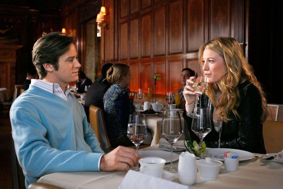 """<p>In <em>Gossip Girl</em>, <a href=""""https://www.cosmopolitan.com/sex-love/a35447828/armie-hammer-bdsm-fetish-educator/"""" rel=""""nofollow noopener"""" target=""""_blank"""" data-ylk=""""slk:Armie Hammer"""" class=""""link rapid-noclick-resp"""">Armie Hammer</a> played Gabriel, a handsome and conniving con artist who sets up a plot with his girlfriend Poppy to steal money from several Upper East Side investors. It's especially devastating when Dan's father Rufus decides to invest all of Dan's college money into the scam. The lesson here is don't invest all your savings with some guy you just met five minutes ago at a party.</p>"""