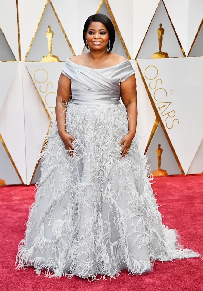 <p>Actor Octavia Spencer attends the 89th Annual Academy Awards at Hollywood & Highland Center on February 26, 2017 in Hollywood, California. (Photo by Frazer Harrison/Getty Images) </p>
