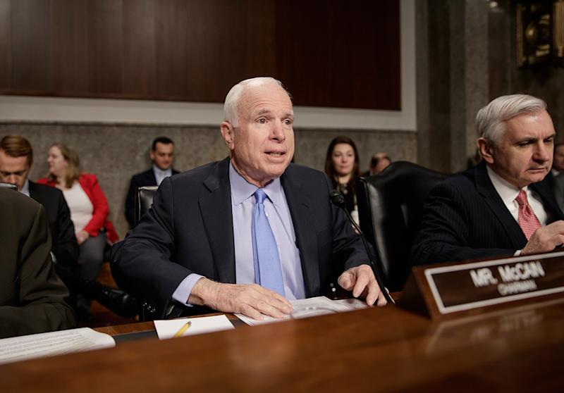 Sen. John McCain, 80, Undergoes Surgery for Blood Clot – Causing GOP to Call Off Health Care Vote