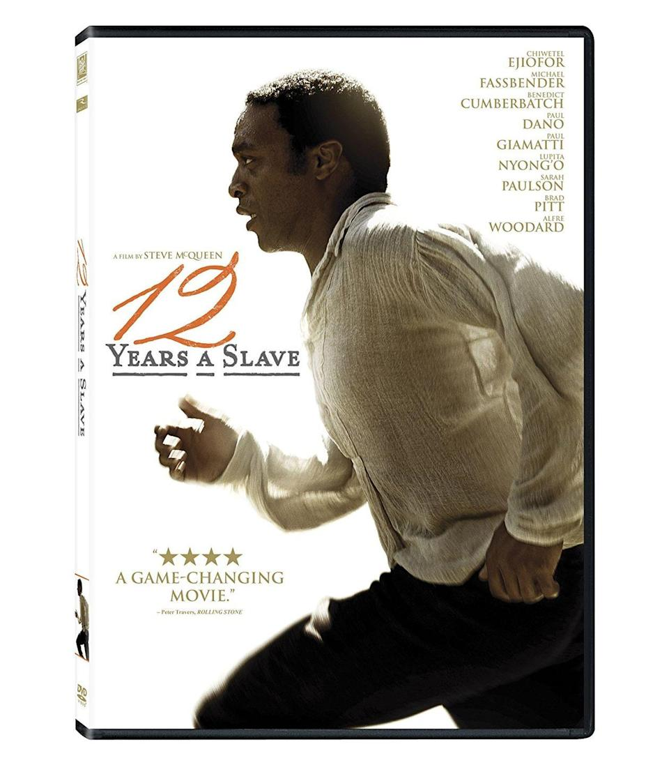 """<p><a class=""""link rapid-noclick-resp"""" href=""""https://www.amazon.com/12-Years-Slave-Chiwetel-Ejiofor/dp/B00G4Q3KOC/?tag=syn-yahoo-20&ascsubtag=%5Bartid%7C10067.g.15907978%5Bsrc%7Cyahoo-us"""" rel=""""nofollow noopener"""" target=""""_blank"""" data-ylk=""""slk:Watch Now"""">Watch Now</a> </p><p>A story of historic malevolence and heroic survival, <em>12 Years a Slave</em> portrays the cruelty of slavery in the South in the years before the Civil War through the eyes of a free black man who is kidnapped and sold into bondage.<br></p>"""