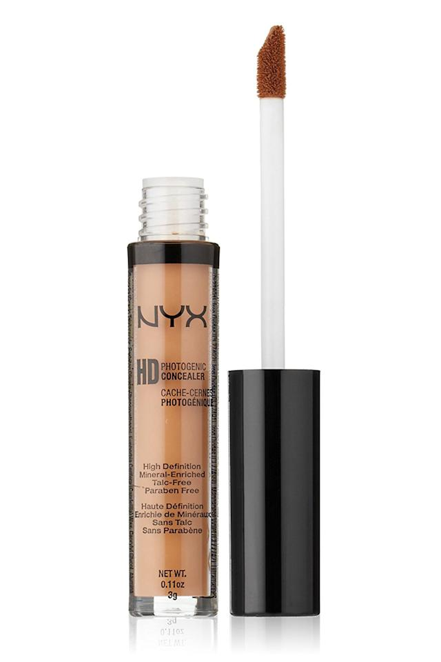 "<p>I'm a sucker for anything Nyx- their high-quality / affordable price combo is a force to be reckoned with. This wand rivals Nars' cult-favorite, but obviously at a fraction of the price. It goes on smooth without caking under your eyes, which is a major indicator of a great concealer.- Justine Carreon, Associate Market Editor</p><p><em>NYX Hi Definition Photo Concealer Wand</em><span><em>, $5; </em><a rel=""nofollow"" href=""http://www.ulta.com/hi-definition-photo-concealer-wand?productId=xlsImpprod3460285#""><em>ulta.com</em></a></span></p>"