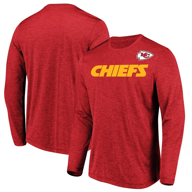 Chiefs Majestic Touchback Long Sleeve T-Shirt