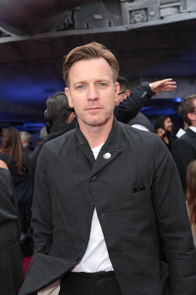 Former (and potentially future?) Obi-Wan Ewan McGregor hits the red carpet. (Photo: Lucasfilm/Disney)