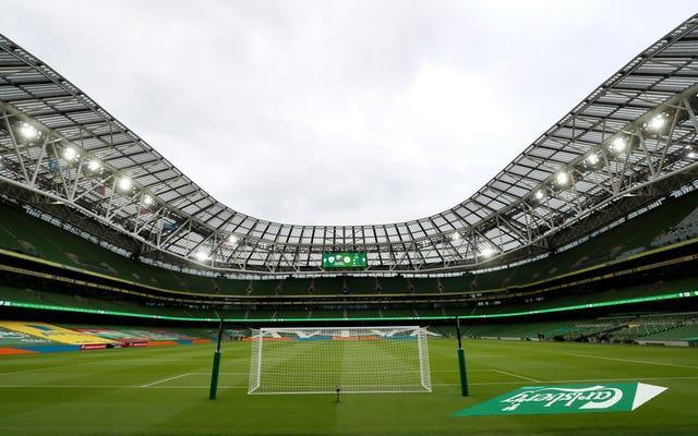 The Aviva Stadium in Dublin is due to host four Euro 2020 matches