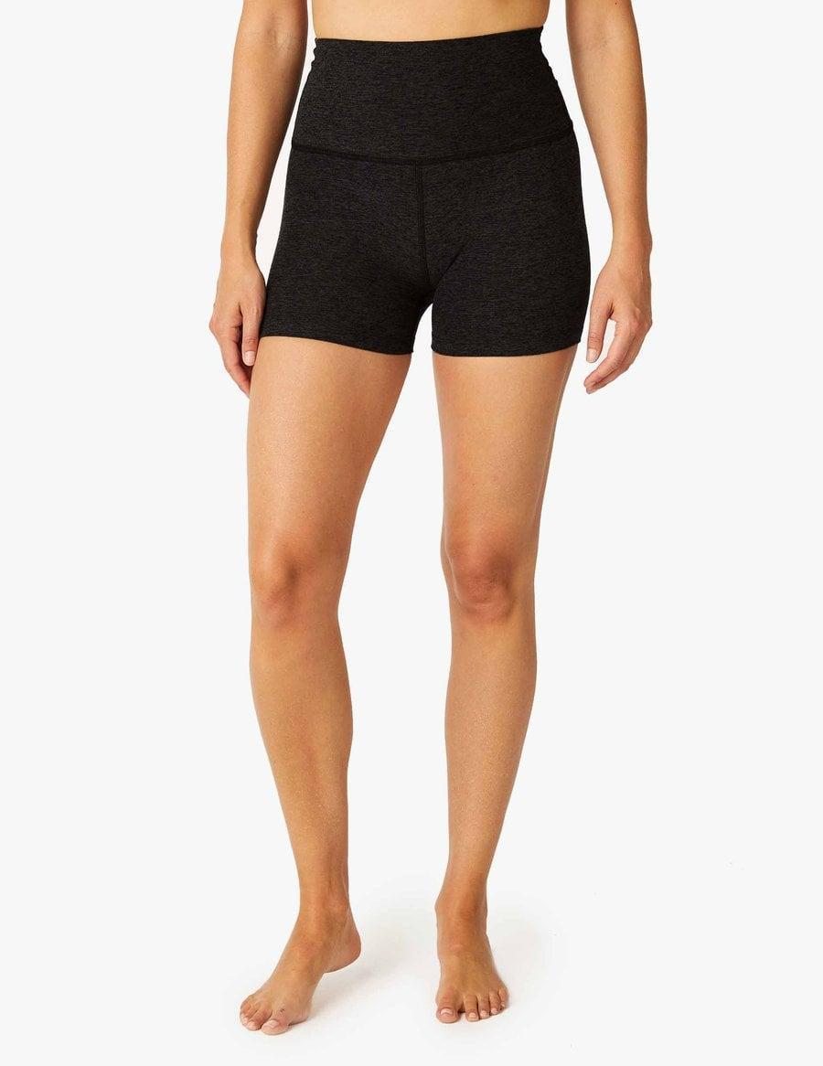 <p>If you want a shorter short, these <span>Beyond Yoga Spacedye All For Run Shorts</span> ($64) are the ones to go for. They're so comfortable, and actually look good on.</p>