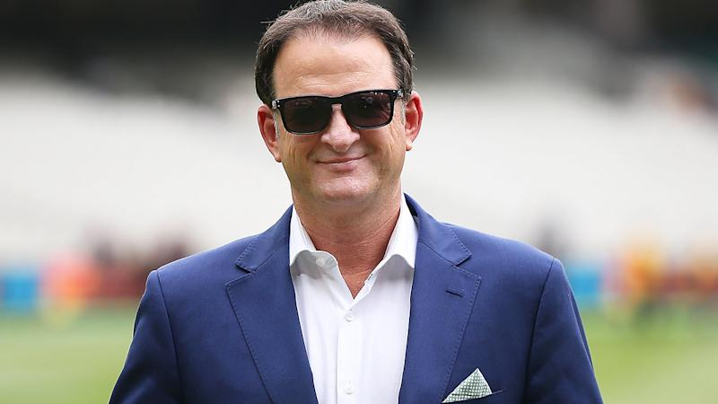 Former Australian Test cricketer Mark Waugh revealed on air during the Big bash League that a rat ate part of his baggy green cap during his playing days. (Photo by Scott Barbour - CA/Cricket Australia via Getty Images/Getty Images)