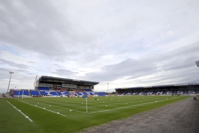 The Caledonian Stadium got to host top-flight football after the required seating capacity was reduced (Jeff Holmes/PA)