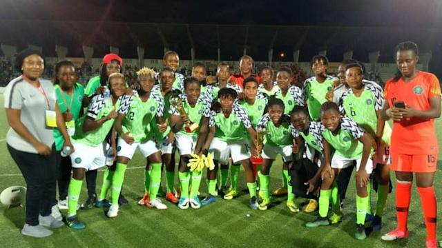 After the Super Falcons came from a goal down to beat the hosts on penalties, the gaffer applauds his team's character in the WAFU tournament