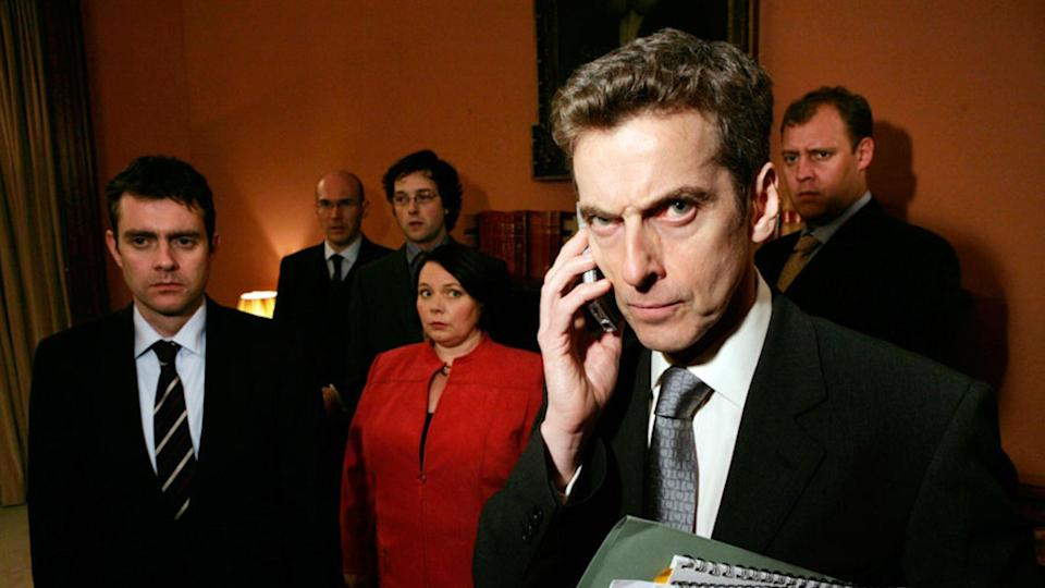 <p> <strong>Years:</strong> 2005 – 2012 </p> <p> Armando Iannucci retools Yes, Minister for the '00s with this acerbic skewering of British politics (which later inspired a film, In The Loop, and the US show Veep). Shifting the balance of power from civil servants to anonymous government advisors, it's a farce born of Whitehall ineptitude. Its breakout star was future Time Lord Peter Capaldi as Malcolm Tucker, the government spin doctor who turned swearing into an art form. <em>RE</em> </p>