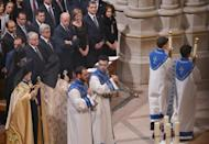In 2015 then US vice president Joe Biden attended a prayer service marking the 100th anniversary of the Armenian Genocide at the National Cathedral in Washington, together with Armenia's pesident Serzh Sargsyan