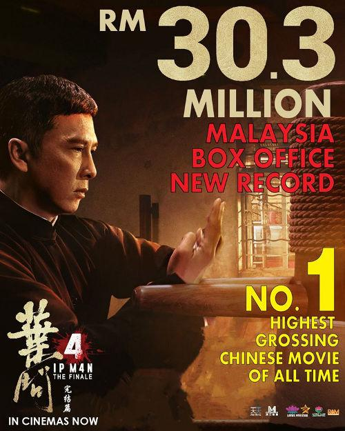 """This being Donnie Yen's final reprisal of the titular kung fu master could be one of the contributing factors to the success of """"Ip Man 4: The Finale""""."""
