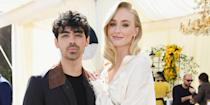"""<p><a href=""""https://www.elle.com/uk/life-and-culture/a28297713/sophie-turner-joe-jonas-wedding-game-of-thrones-cast-happy/"""" rel=""""nofollow noopener"""" target=""""_blank"""" data-ylk=""""slk:Sophie Turner and Joe Jonas"""" class=""""link rapid-noclick-resp"""">Sophie Turner and Joe Jonas </a>are one of the most enviable - yet, still relatable - Hollywood couples out there.</p><p>From consistently turning up to support each other publicly, whether<a href=""""https://www.elle.com/uk/life-and-culture/a28717916/sophie-turner-joe-jonas-brothers-concert/"""" rel=""""nofollow noopener"""" target=""""_blank"""" data-ylk=""""slk:it's at the Jonas Brothers tour"""" class=""""link rapid-noclick-resp""""> it's at the Jonas Brothers tour</a> or Game of Thrones premiere, to just keeping it low key during <a href=""""https://www.elle.com/uk/life-and-culture/wedding/a28243451/sophie-turner-wedding-dress-joe-jonas-porky-basquit/"""" rel=""""nofollow noopener"""" target=""""_blank"""" data-ylk=""""slk:dog walks"""" class=""""link rapid-noclick-resp"""">dog walks </a>and basketball games, they always look like they're having a ton of fun. </p><p>Now, <a href=""""https://www.elle.com/uk/life-and-culture/culture/a33436445/sophie-turner-joe-jonas-baby/"""" rel=""""nofollow noopener"""" target=""""_blank"""" data-ylk=""""slk:Turner and Jonas are parents!"""" class=""""link rapid-noclick-resp"""">Turner and Jonas are parents!</a> The couple welcomed their daughter, rumoured to be called Willa in 2020, a year after saying 'I do' at their (second) wedding ceremony in the south of France. </p><p>For the lavish Chateau ceremony, the actress<a href=""""https://www.elle.com/uk/fashion/celebrity-style/a28287910/sophie-turner-wedding-dress-pictures/"""" rel=""""nofollow noopener"""" target=""""_blank"""" data-ylk=""""slk:looked incredible in a dress by Louis Vuitton"""" class=""""link rapid-noclick-resp""""> looked incredible in a dress by Louis Vuitton</a> and was joined by a whole host of A-Listers, including Maisie Williams, <a href=""""https://www.elle.com/uk/life-and-culture/culture/a28260069/priyanka-chopra-jonas-cover-august-2019/"""" """