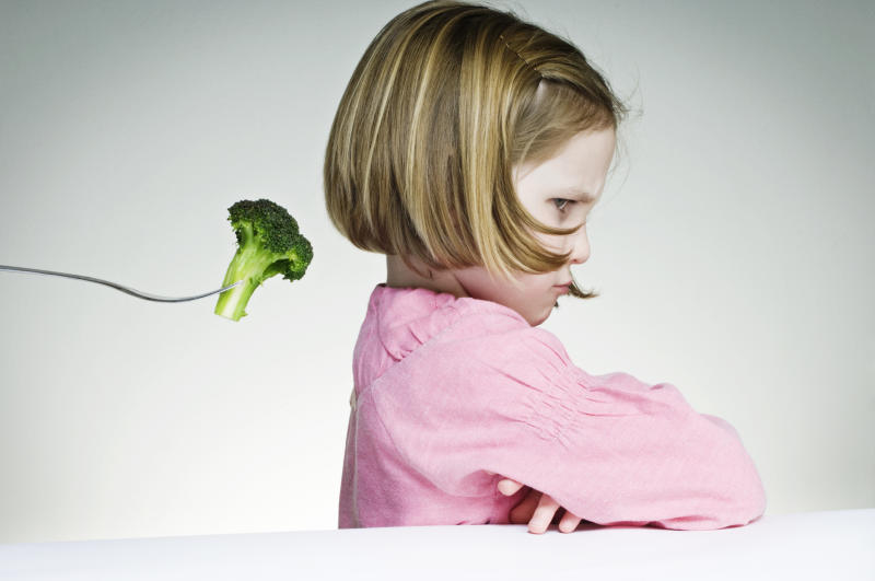 Picky eaters may not grow out of it any time soon, new research has revealed. (Getty Images)