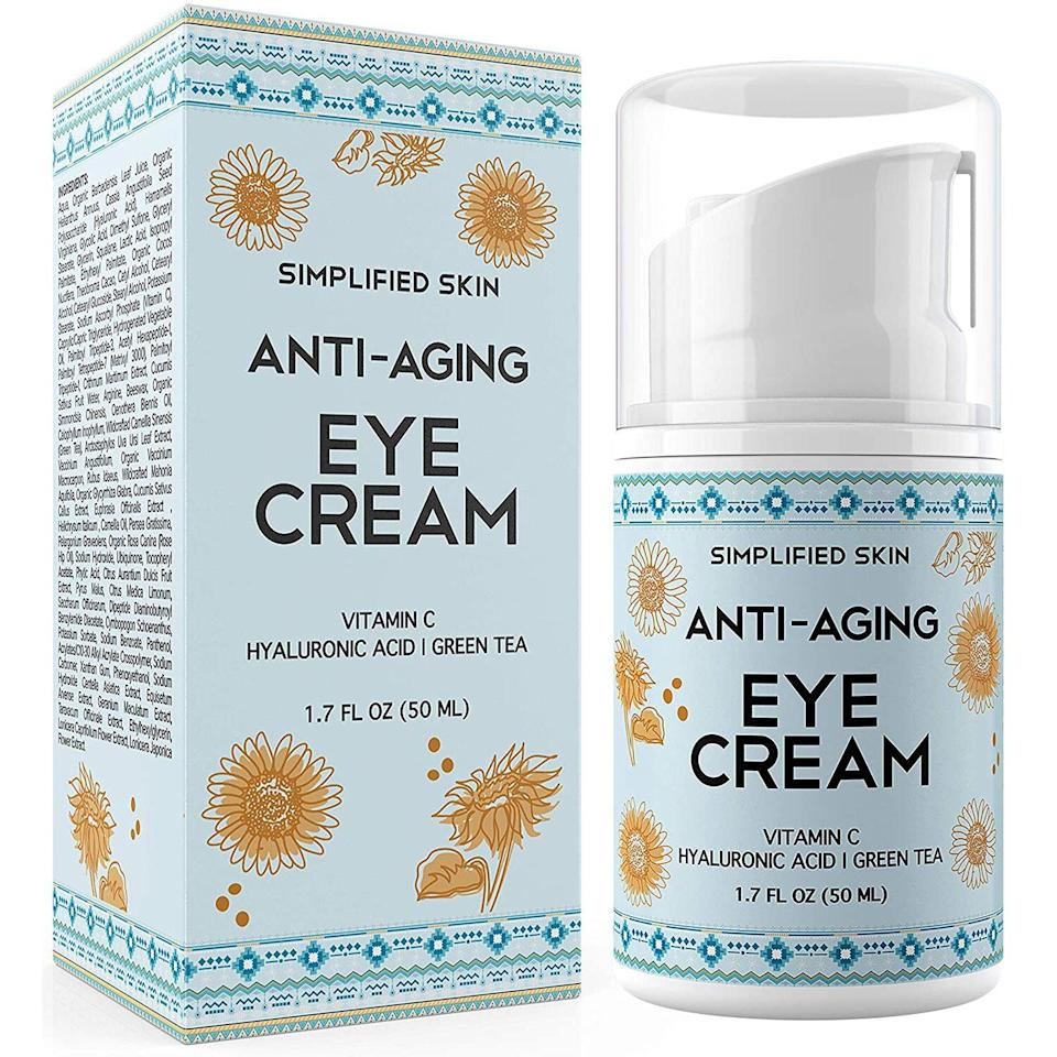 Anti-Aging Eye Cream for Dark Circles,Wrinkles,Bags & Puffiness