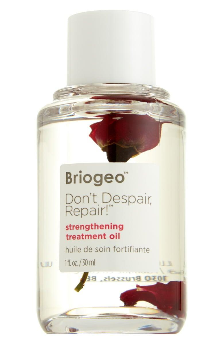 <p>The protective <span>Briogeo Don't Despair, Repair! Treatment Oil</span> ($30) will leave your hair moisturized, shiny, and frizz-free.</p>