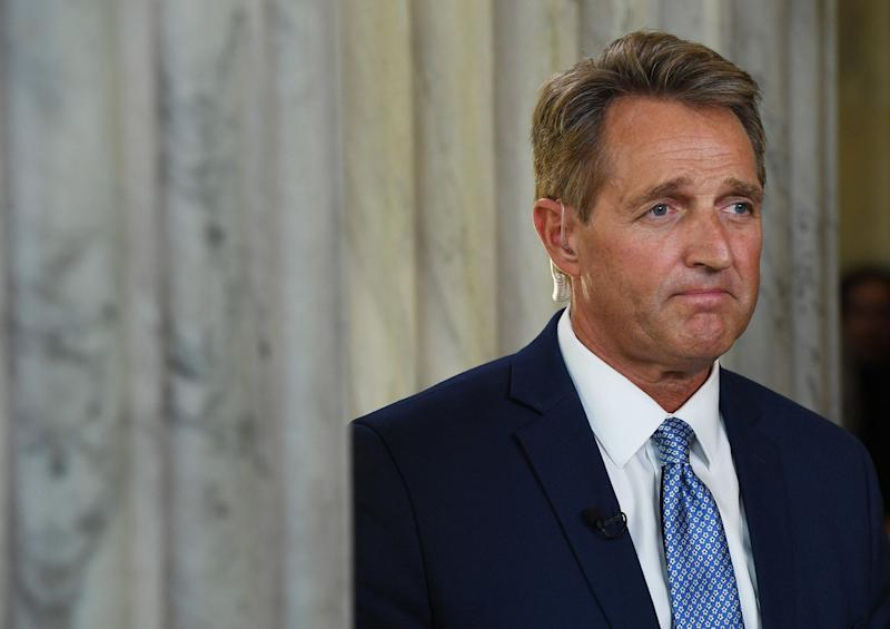 Republican Sen. Flake warns impeachment is the 'only' remedy if Trump fires Mueller