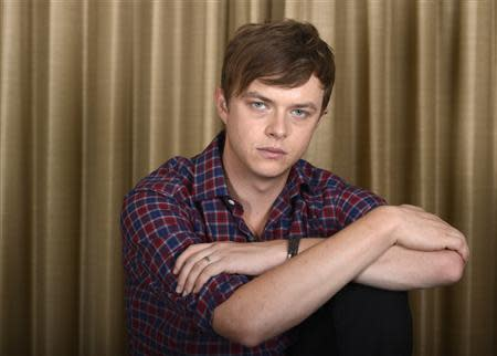 """Actor Dane DeHaan poses during a media event promoting the film """"Kill Your Darlings"""" in Los Angeles in this file photo from October 3, 2013. REUTERS/Phil McCarten/Files"""