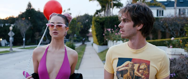 A still from Under The Silver Lake. (A24)