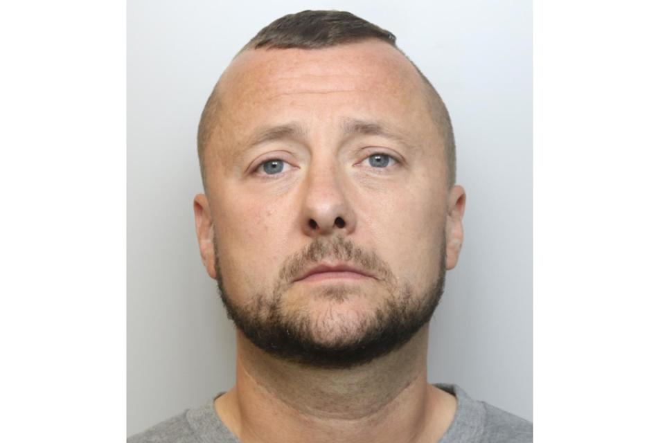 Shaun Foy has been jailed after attacking his wife in a Warrington park (Cheshire Police)