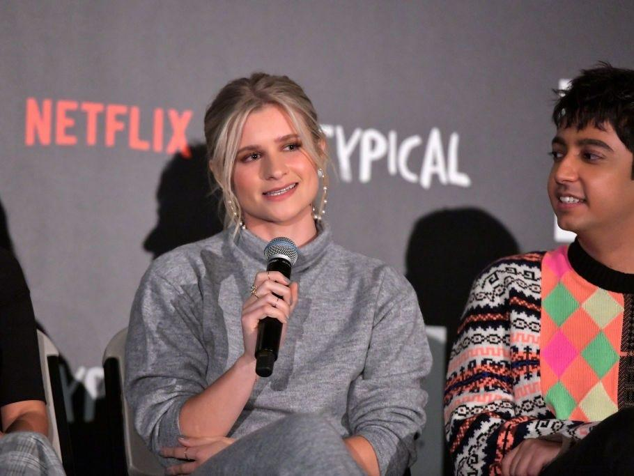 "Boyd speaks onstage during the ""Atypical"" Season 3 special screening on October 28, 2019. <p class=""copyright"">Charley Gallay/Getty Images for Netflix</p>"