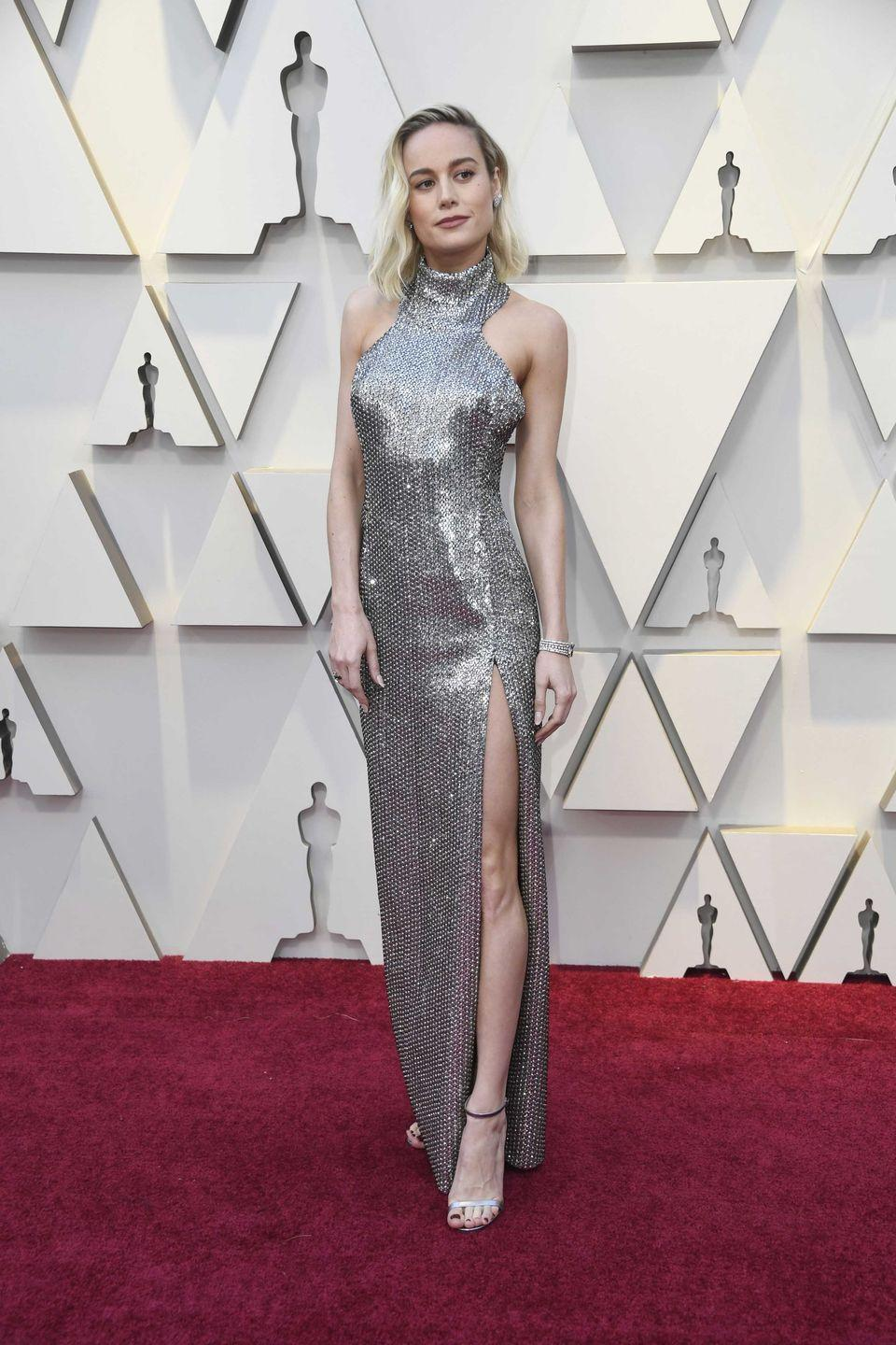 <p>You might mistake Brie Larson *the singer* for a slightly chiller Avril Lavigne and definitely not mistake her for Brie Larson *the actress* in her gut-wrenching, Oscar-winning performance in <em>Room</em>. The <em>Captain Marvel </em>actress's debut album, <em>Finally Out of P.E.</em>, was angsty and pop-punk. Her single <em>She Said</em> peaked at number 31 on the Billboard Top 100. Not bad!</p>