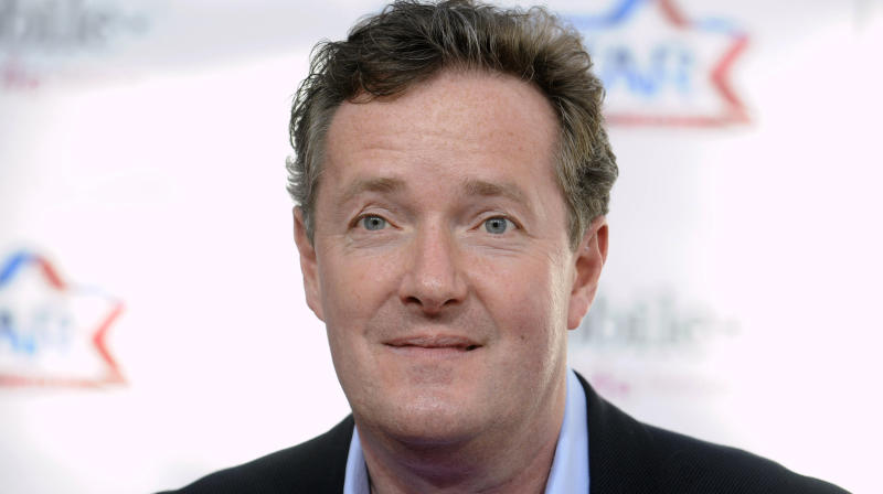 Moms School Piers Morgan After Joke About 'Manning Up'