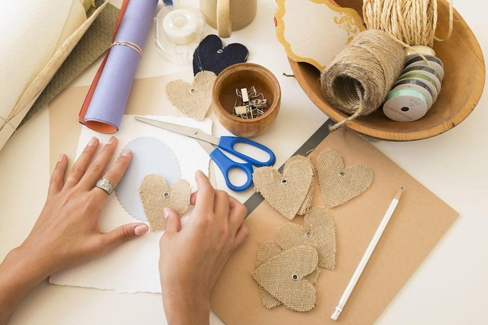 "<p>Get your creative muscles flowing by making something together. You can decorate mugs, vases, or personalized picture frames. </p><p><a class=""link rapid-noclick-resp"" href=""https://go.redirectingat.com?id=74968X1596630&url=https%3A%2F%2Fwww.walmart.com%2Fsearch%2F%3Fquery%3Dcraft%2Bsupplies&sref=https%3A%2F%2Fwww.thepioneerwoman.com%2Fholidays-celebrations%2Fg35118424%2Fthings-to-do-on-valentines-day%2F"" rel=""nofollow noopener"" target=""_blank"" data-ylk=""slk:SHOP CRAFT SUPPLIES"">SHOP CRAFT SUPPLIES</a></p>"