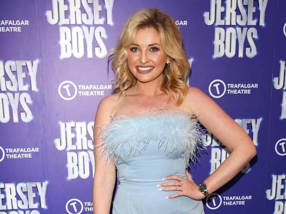 Amy Hart at the 'Jersey Boys' press night in August (Getty Images,)