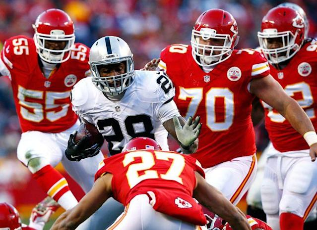 Kansas City's team DEF is definitely a unit to target. (Photo by Jamie Squire/Getty Images)