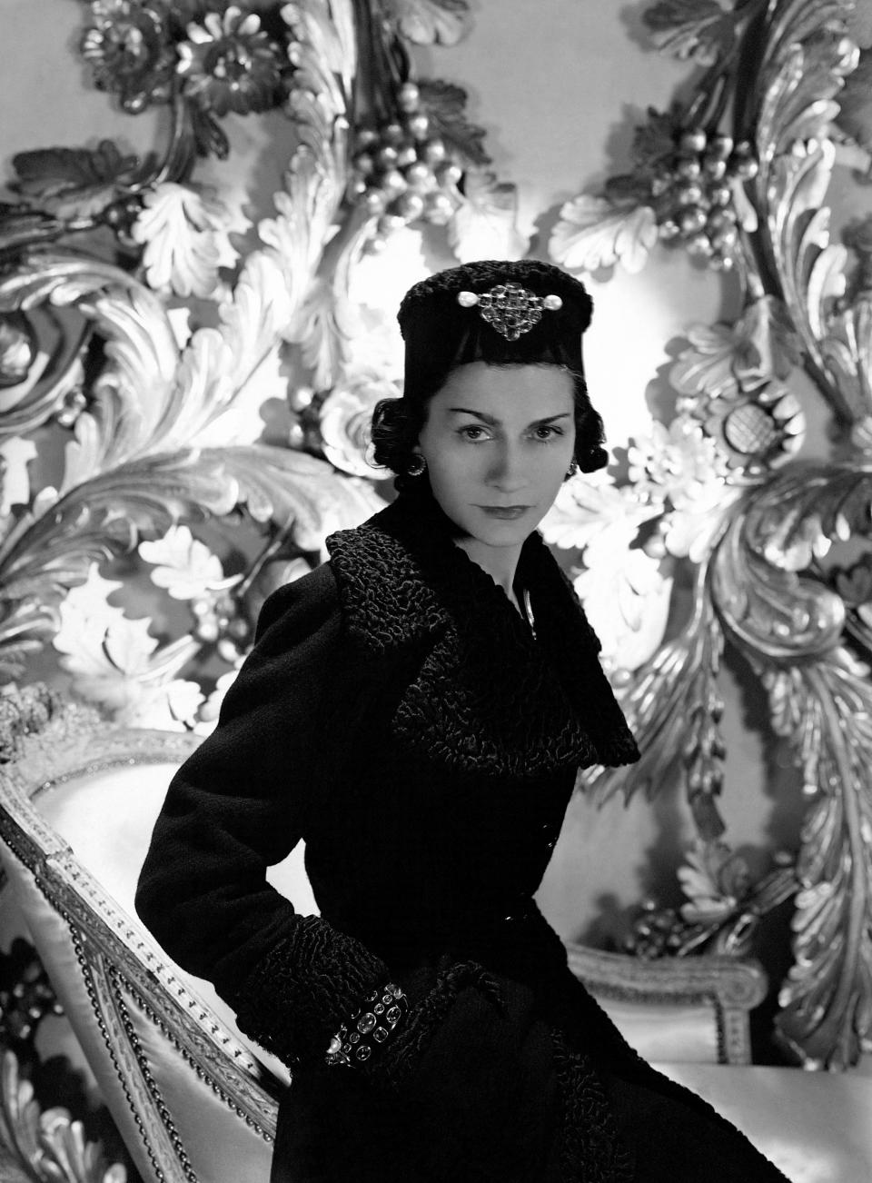 Coco Chanel en 1937. (Photo by Horst P. Horst/Condé Nast via Getty Images)