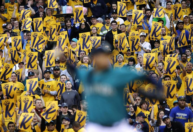 King Felix silences A's in Seattle's 6-4 victory