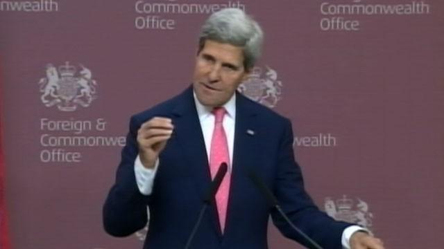 John Kerry Describes 'Unbelievably Small' Military Effort in Syria