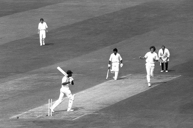 Guyanan Clive Lloyd was one of Willis' victims in that series, at Headingley (PA)