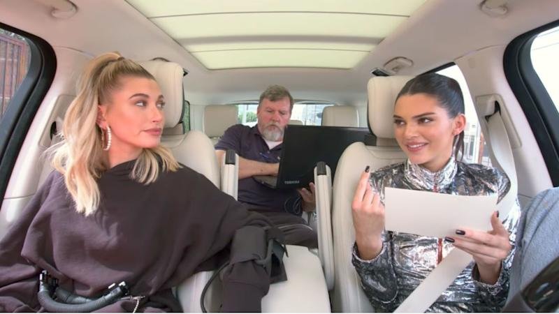 Hailey Baldwin Is Asked About Justin Bieber by Kendall Jenner While Taking a Lie Detector Test: Watch
