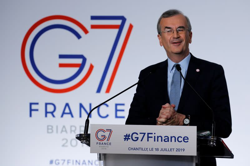 Euro zone needs loose monetary policy until inflation goal near, says Villeroy